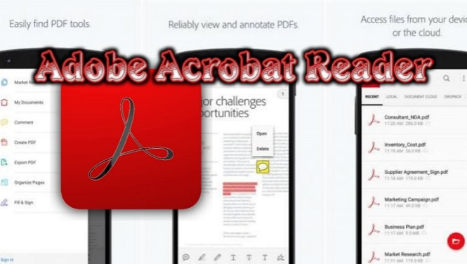 Adobe Acrobat Reader apk free download for android