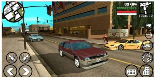 GTA San Andreas Lite Apk
