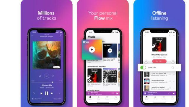 Deezer Music & Podcast Player App