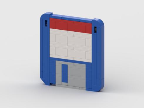 Lego floppy disk