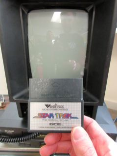 To boldly go where no Vectrex has gone before...