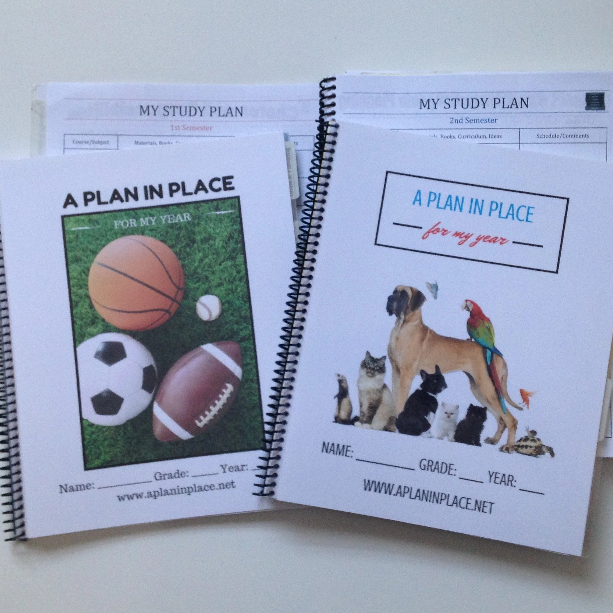 Student Edition Planner