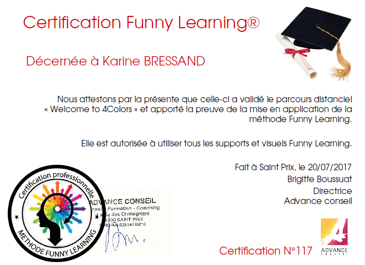 Certification Funny Learning