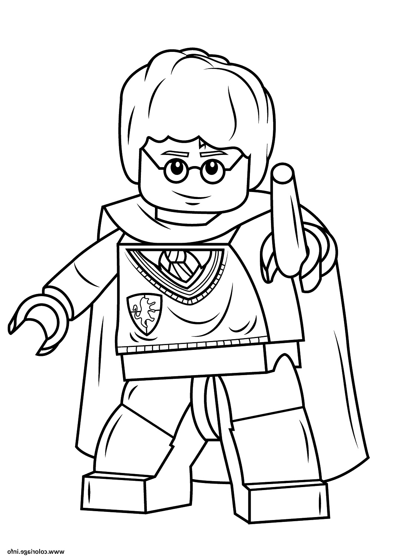 dessin à imprimer: Coloriage A Imprimer Lego Harry Potter