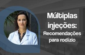 Múltiplas injeções recomendações para rodízio