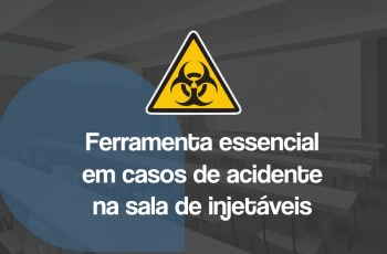 acidentes na sala de injetáveis