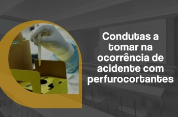 condutas indicadas para exposição ocupacional a material biológico