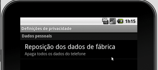 formatar android