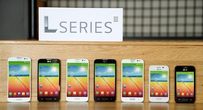 hard reset LG L series
