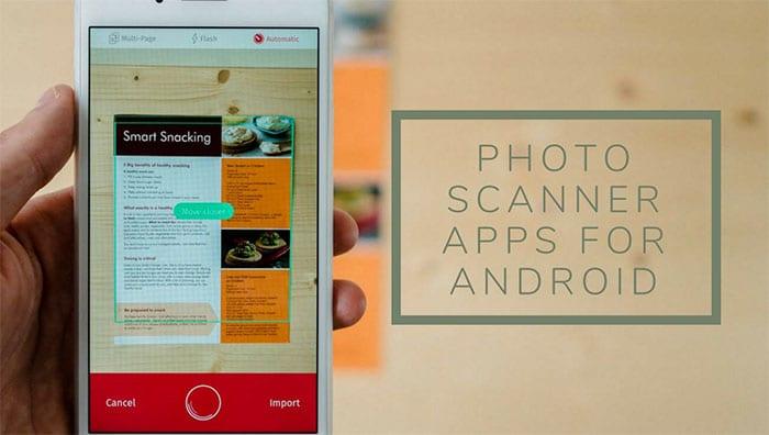 Os melhores aplicativos para escanear fotos (scanners)