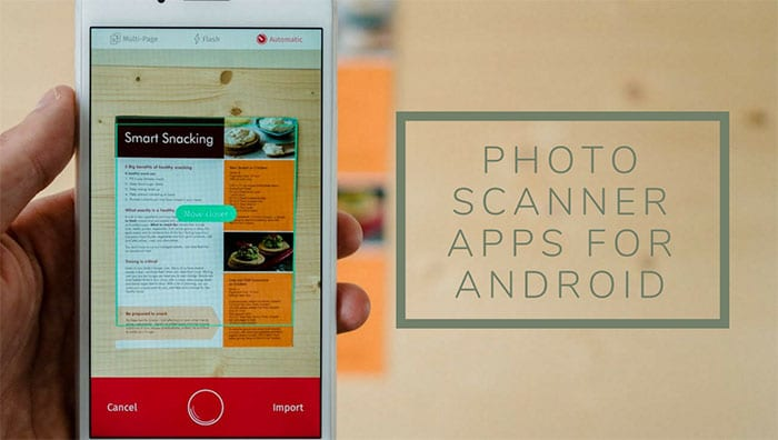Best Photo Scanner Apps para Android