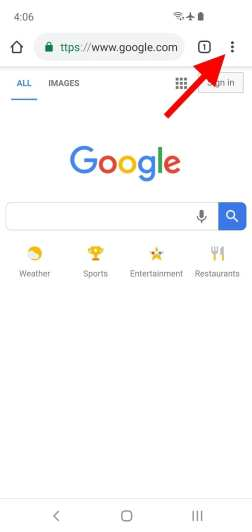 Como Activar o Modo Escuro no Chrome fou Android