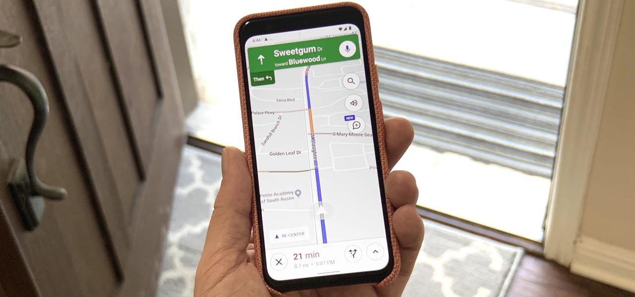Navegue para Doméstica ou de Trabalho em 1 Toque com o Google Maps