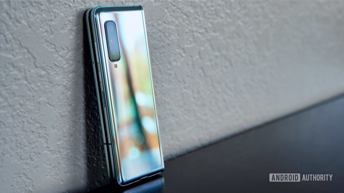 Reflexões do Samsung Galaxy Fold Review