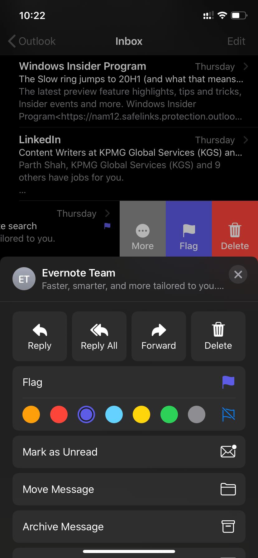 Cor da bandeira