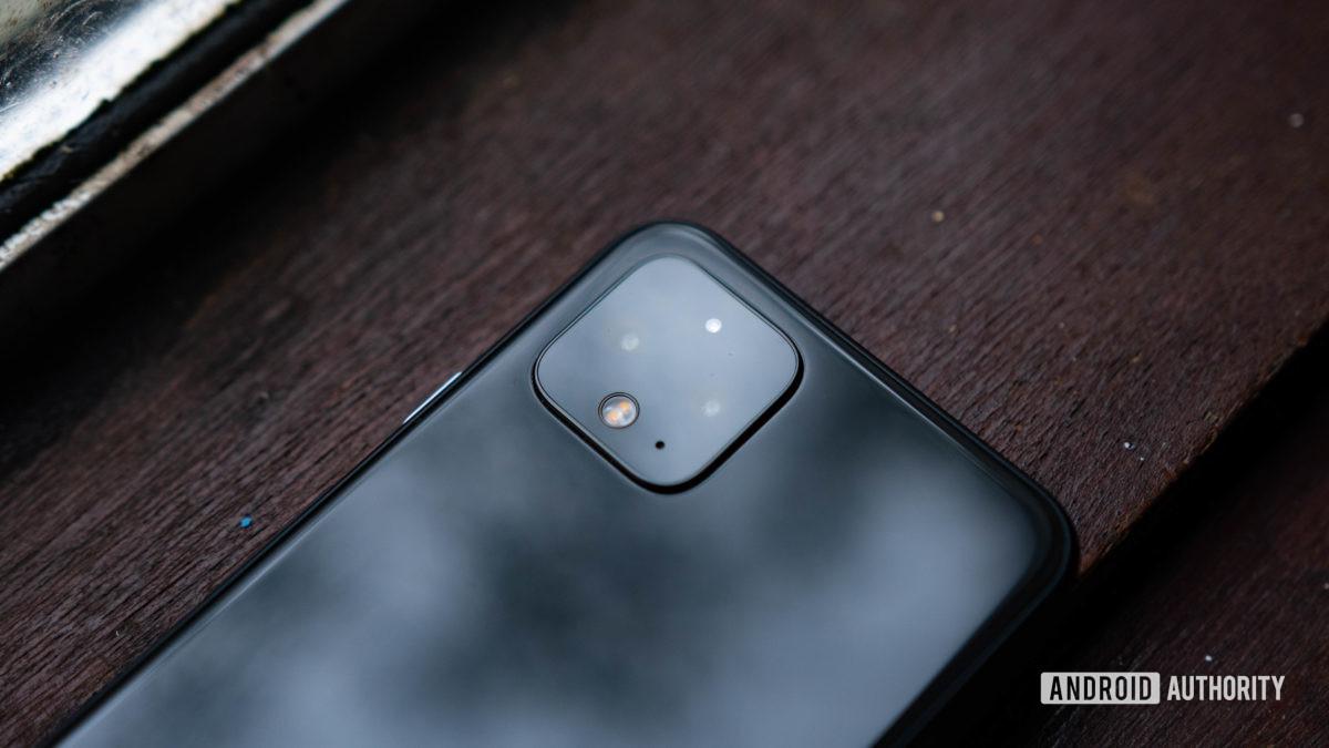 Módulo de câmera traseira Pixel 4