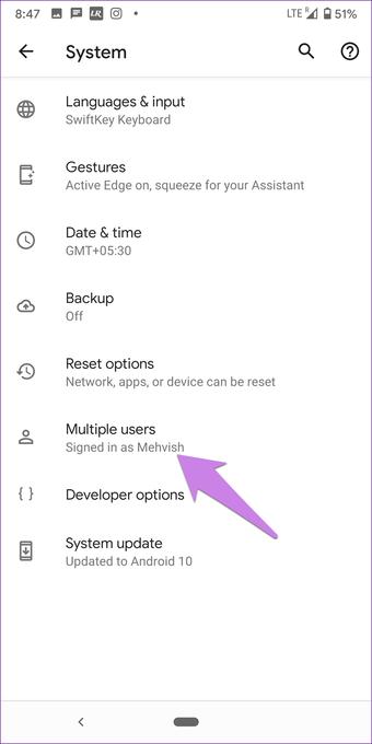 """Adicionar conta do Google sem sincronização Android 9 """"width ="""" 702 """"height ="""" 1402 """"data-size ="""" auto """"size ="""" (largura mínima: 976px) 700px, (largura mínima: 448px) 75vw, 90vw """"srcset = """"https://www.aplicativosandroid.com/wp-content/uploads/2019/12/1577094958_44_As-5-principais-maneiras-de-adicionar-uma-conta-do-Google.png 702w, https: //cdn.guidingtech. com / imager / media / assets / 2019/12/249173 / add-google-account-without-sync-android-9_935adec67b324b146ff212ec4c69054f.png? 1576607267 700w, https://cdn.guidingtech.com/imager/media/assets/2019 /12/249173/add-google-account-without-sync-android-9_40dd5eab97016030a3870d712fd9ef0f.png?1576607267 500w, https://cdn.guidingtech.com/imager/media/assets/2019/12/249173/add-google conta-sem-sincronizar-android-9_7c4a12eb7455b3a1ce1ef1cadcf29289.png? 1576607268 340w"""