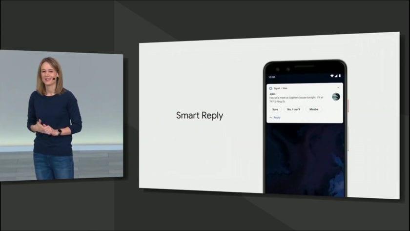 Google IO 2019 Stephanie Cuthbertson resposta inteligente