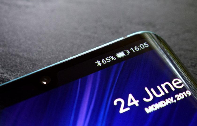 Ícone do menu de notificação Bluetooth do Android