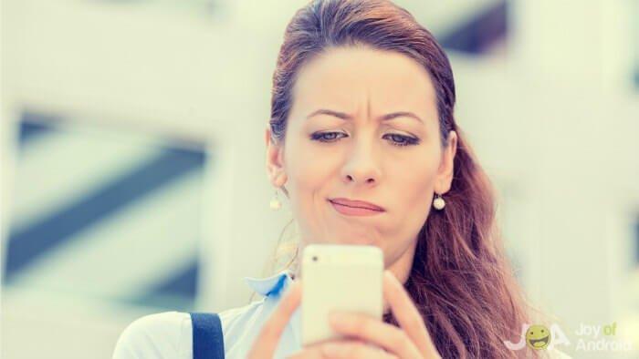 Problemas com smartphones