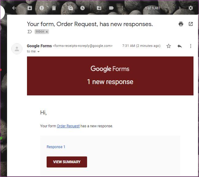 Como obter respostas dos formulários do Google no email 01
