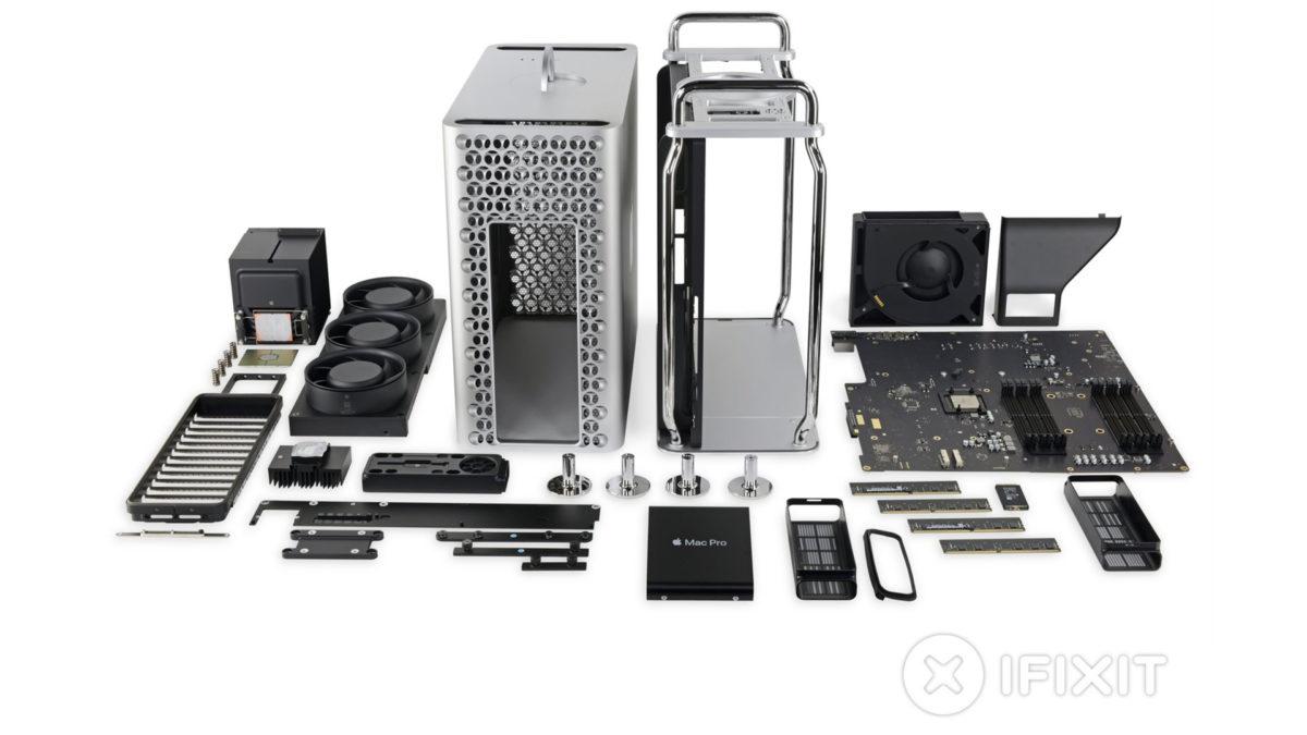 Desmontagem do Mac Pro iFixit