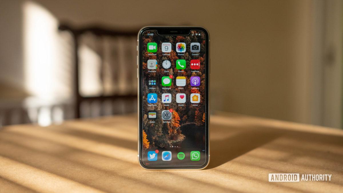 exibição iphone 11