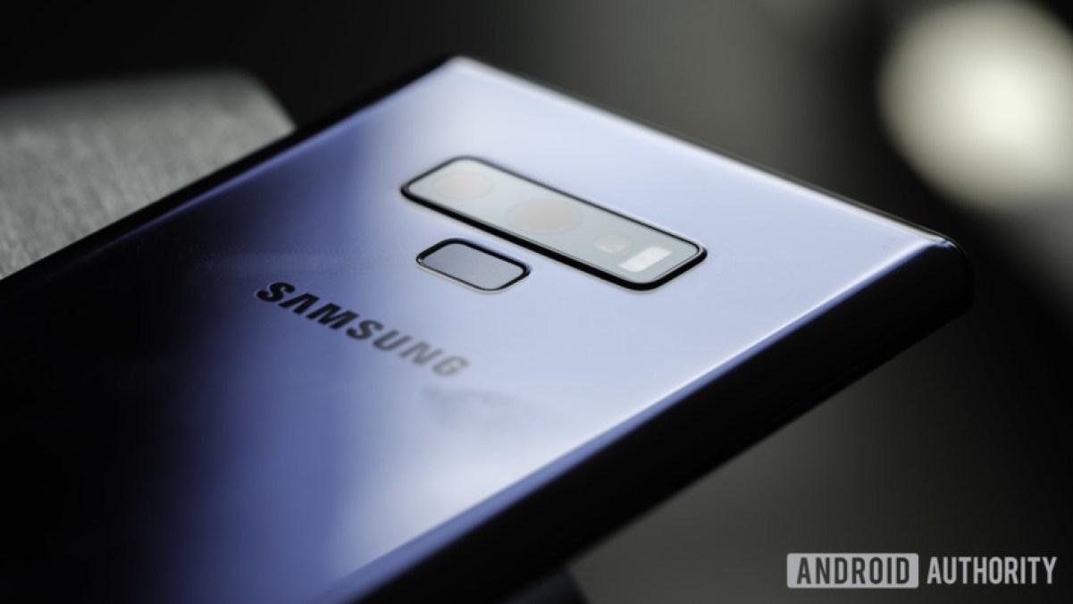 Samsung Galaxy Note 9 atualizar