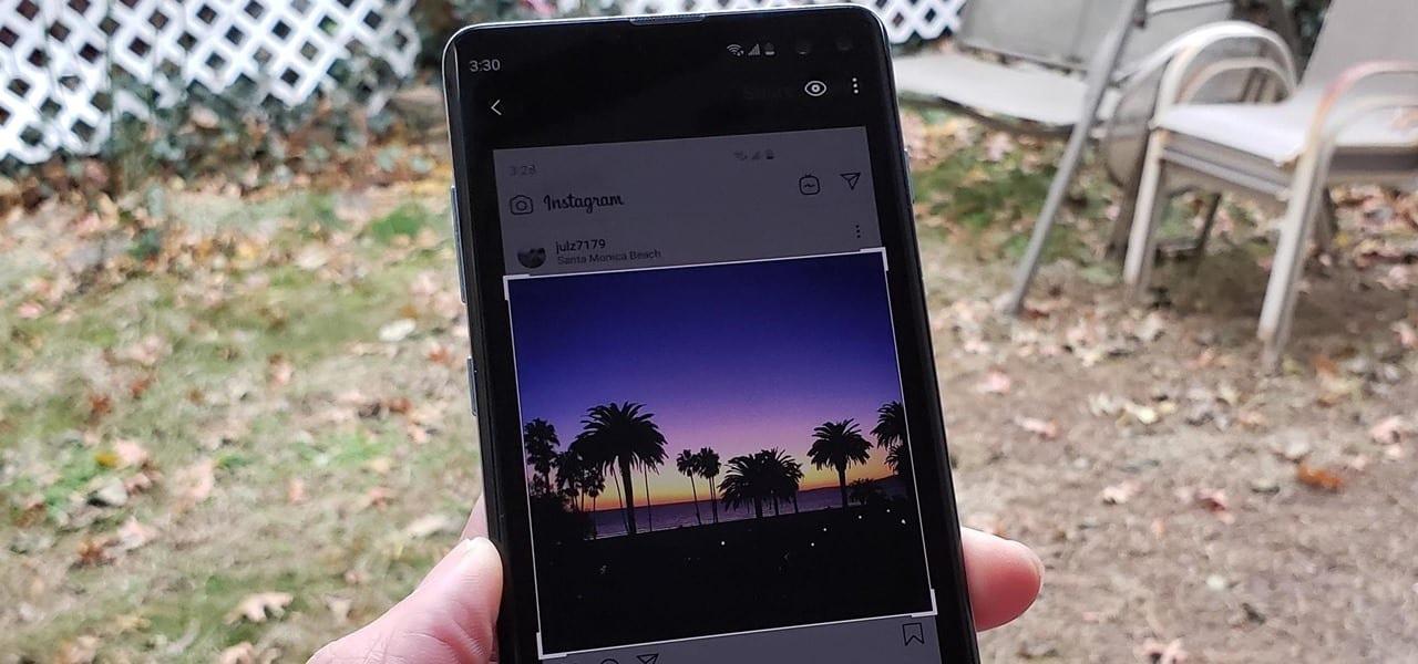 Uma INTERFACE de usuário 2 Pode Recortar Automaticamente as Capturas de tela do Seu Galaxy