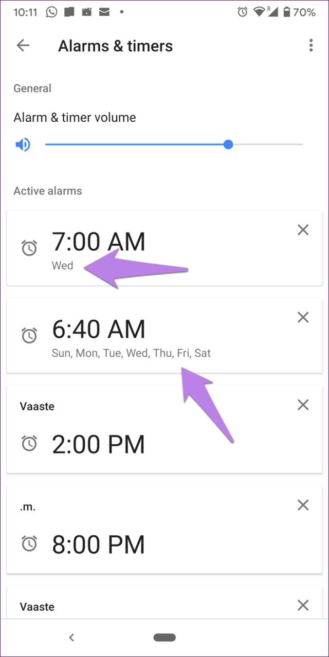 Mini alarme doméstico do Google 10