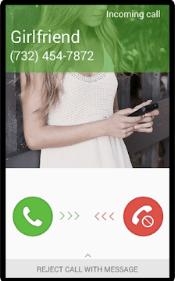 Melhores aplicativos de chamada falsa - brincadeira namorada falsa
