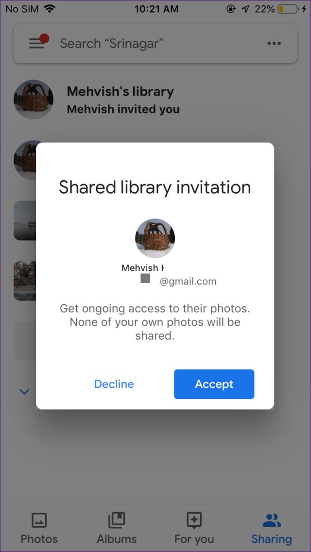 O que são as bibliotecas compartilhadas da conta de parceiro no google photos 17