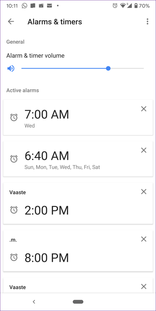 Mini alarme doméstico do Google 7