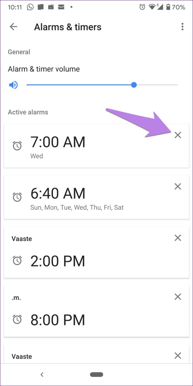 Mini alarme doméstico do Google 9