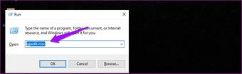 """Corrigir que a lixeira está acinzentada Problema no Windows 10 14 """"width ="""" 778 """"height ="""" 239 """"tamanhos de dados = tamanhos"""" automáticos """"="""" (largura mínima: 976px) 700px (largura mínima: 448px) 75vw, 90vw """"srcset ="""" https://www.aplicativosandroid.com/wp-content/uploads/2020/01/1580139623_399_8-maneiras-de-corrigir-a-lixeira-esta-esmaecida-no-Windows.png 778w, https://cdn.guidingtech.com/imager/assets/2020/01/570343/Fix-Recycle-Bin-Is-Grayed-out-Issue-in-Windows-10-14_935adec67b324b146ff212ec4c69054f.png?1580137520 700w, https : //cdn.guidingtech.com/imager/assets/2020/01/570343/Fix-Recycle-Bin-Is-Grayed-out-Issue-in-Windows-10-14_40dd5eab97016030a3870d712fd9ef0f.png? 1580137520 500w, https: // cdn.guidingtech.com/imager/assets/2020/01/570343/Fix-Recycle-Bin-Is-Grayed-out-Issue-in-Windows-10-14_7c4a12eb7455b3a1ce1ef1cadcf29289.png?1580137520 340w"""