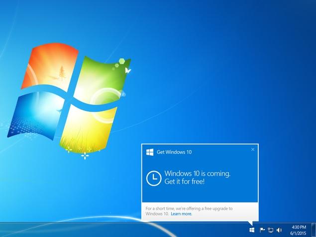 Upgrade Windows 10