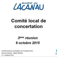 3 éme réunion du CONSEIL LOCAL de CONCERTATION