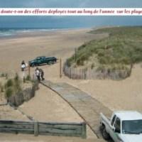 L'érosion dunaire … déjà en 2006 …