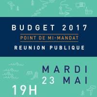 Réunion du 23 mai 2017 – budget 2017 mi mandat