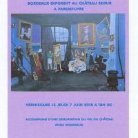 LES ARTISTES DE L'ATELIER DE LA PHILOMATIQUE DE BORDEAUX EXPOSENT