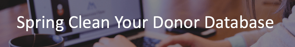 Donor management software to organize your donor database