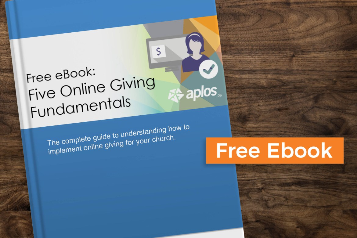 Free eBook: Five Online Giving Fundamentals to Consider Before Launch
