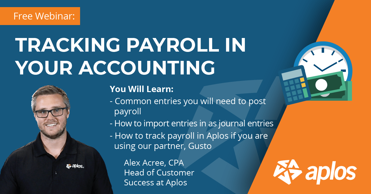 Tracking Payroll in Your Accounting