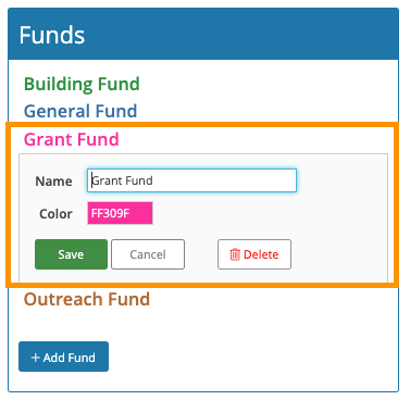 Using fund accounting to track grant money
