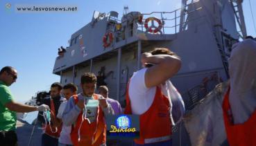 Οι Σύριοι μεταφέρονται για να καταγραφούν από την Frontex
