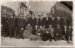 Απεργοί εργάτες βυρσοδεψίας στη Χίο, 1953
