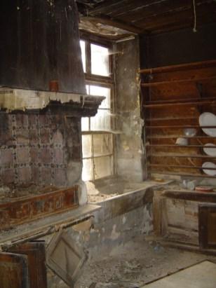 Άποψη της κουζίνας του αρχοντικού