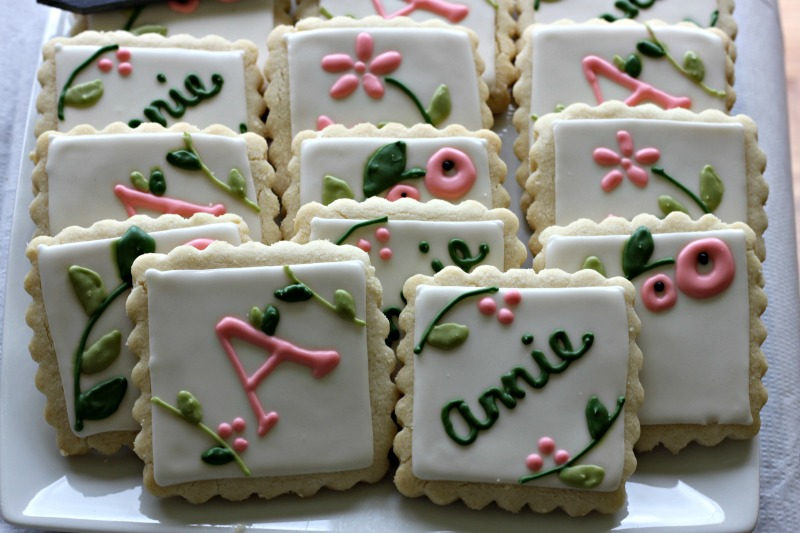 Baby Shower Cookies #babyshowerfood #babyshowerdessert