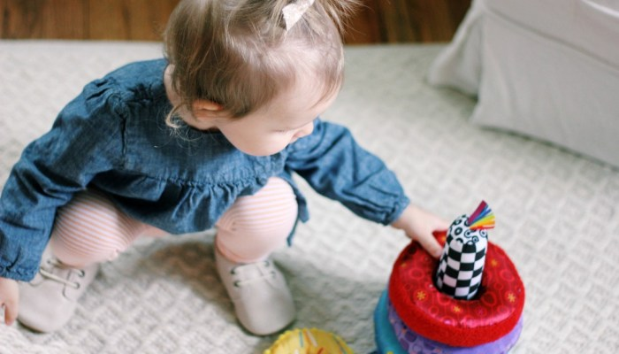 Big Sister Training 101: Playtime With Lamaze Toys