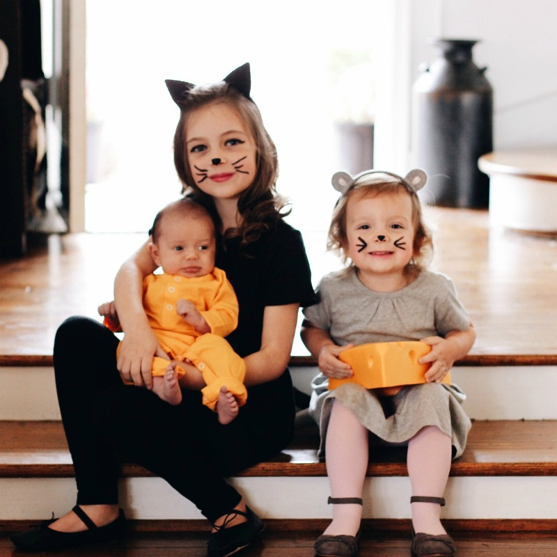 Halloween Costumes For 3 Kids.Happy Halloween From The Spena Three A Life
